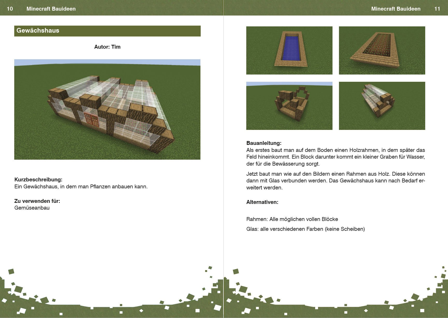 Minecraft Bauideen: 9783832802288: Amazon.com: Books