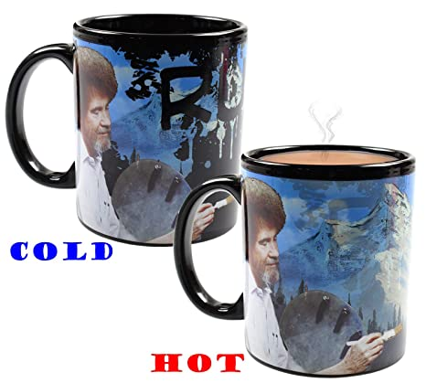 Changing Ruined Saved Heat Ross Painting Coffee Bob Mug hdxstCBQr
