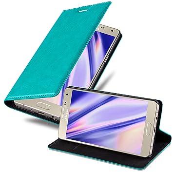 Cadorabo Funda Libro para Samsung Galaxy A5 2015 en Turquesa ...