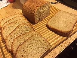 hamilton programmable bread machine 2 pound bread maker with gluten free setting 29882