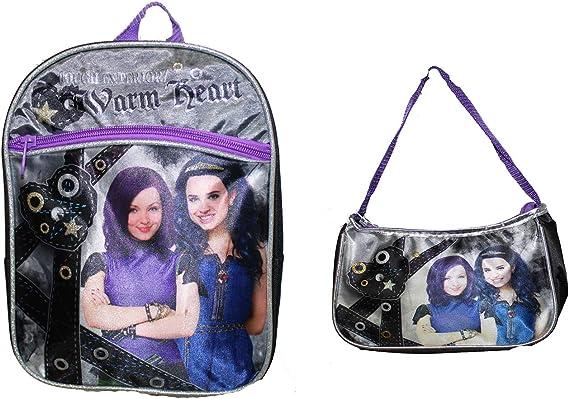 Disney Girls/' Descendants Rolling Backpack w Lunch Box Bonus