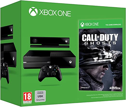 Xbox One - Consola + Call Of Duty: Ghosts: Amazon.es: Videojuegos