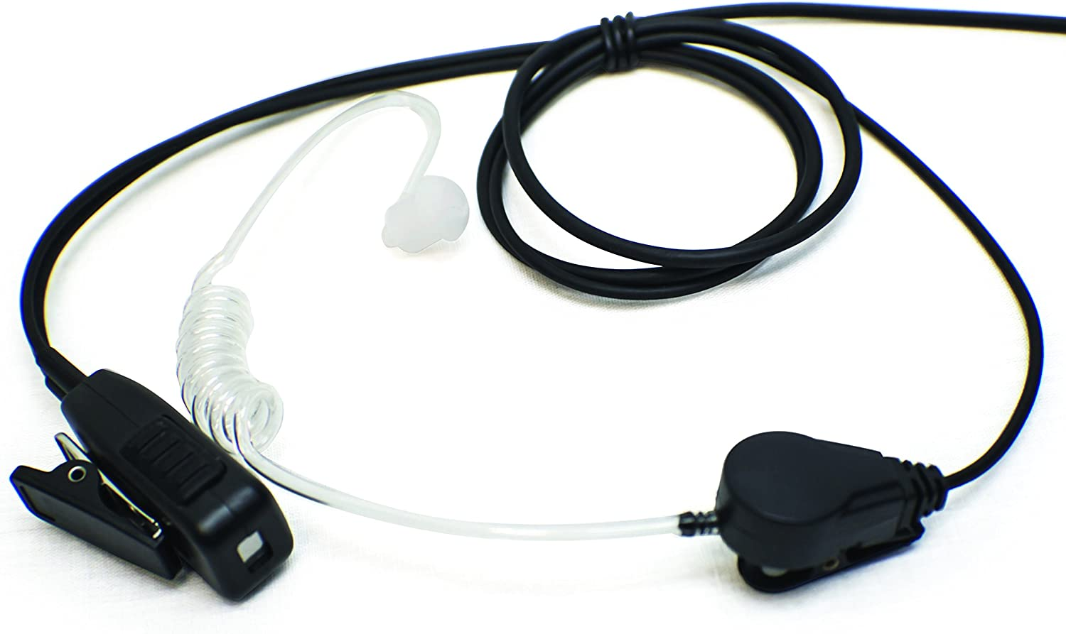 Single-Wire Surveillance Mic Kit for Vertex Standard VX-231 VX-261 VX-351 VX-450 and EVX Digital Series S49 Commercial Series