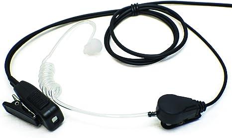 1-wire Surveillance Earpiece For Vertex Standard VX400 VX420 VX450 Portable