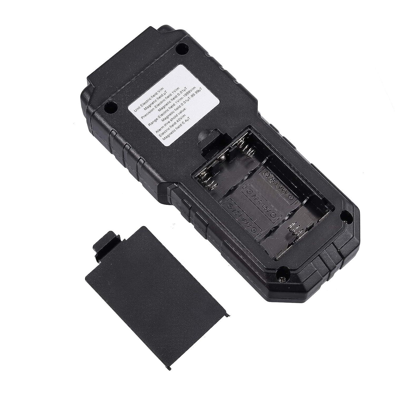 Neoteck EMF Medidor de Radiaci/ón de Campo Electromagn/ético de Mano Mini Digital LCD Detector de EMF con Protecci/ón contra Radiaci/ón