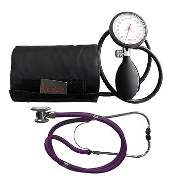 Tensiómetro electrónico de brazo boso K 1 Shock Protected Rappaport Estetoscopio púrpura doble cabezal de estetoscopio Tiga Med: Amazon.es: Salud y cuidado ...