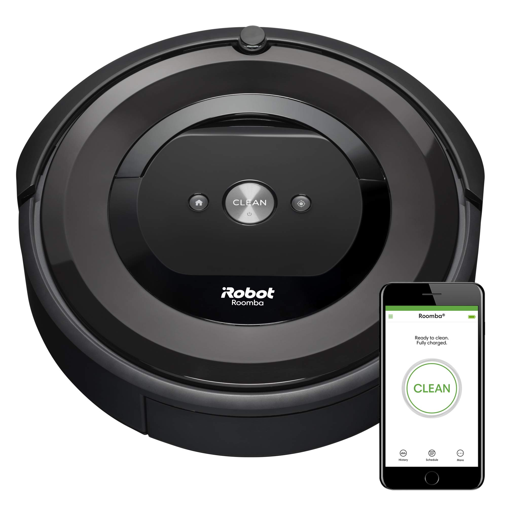 iRobot Roomba E5 (5150) Robot Vacuum - Wi-Fi Connected, Works with Alexa, Ideal for Pet Hair, Carpets, Hard, Self-Charging by iRobot