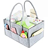 Amazon Price History for:Baby Diaper Caddy Organizer By Brolex: Large Capacity Nursery Organizer For Boys Girls– Unisex Portable Travel Organizing Basket With Lightweight, Sturdy & Versatile Design,Grey
