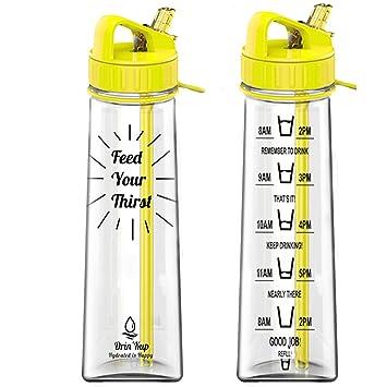 Nunca fugas sin BPA botella de agua (900 ml/32oz) botella de agua