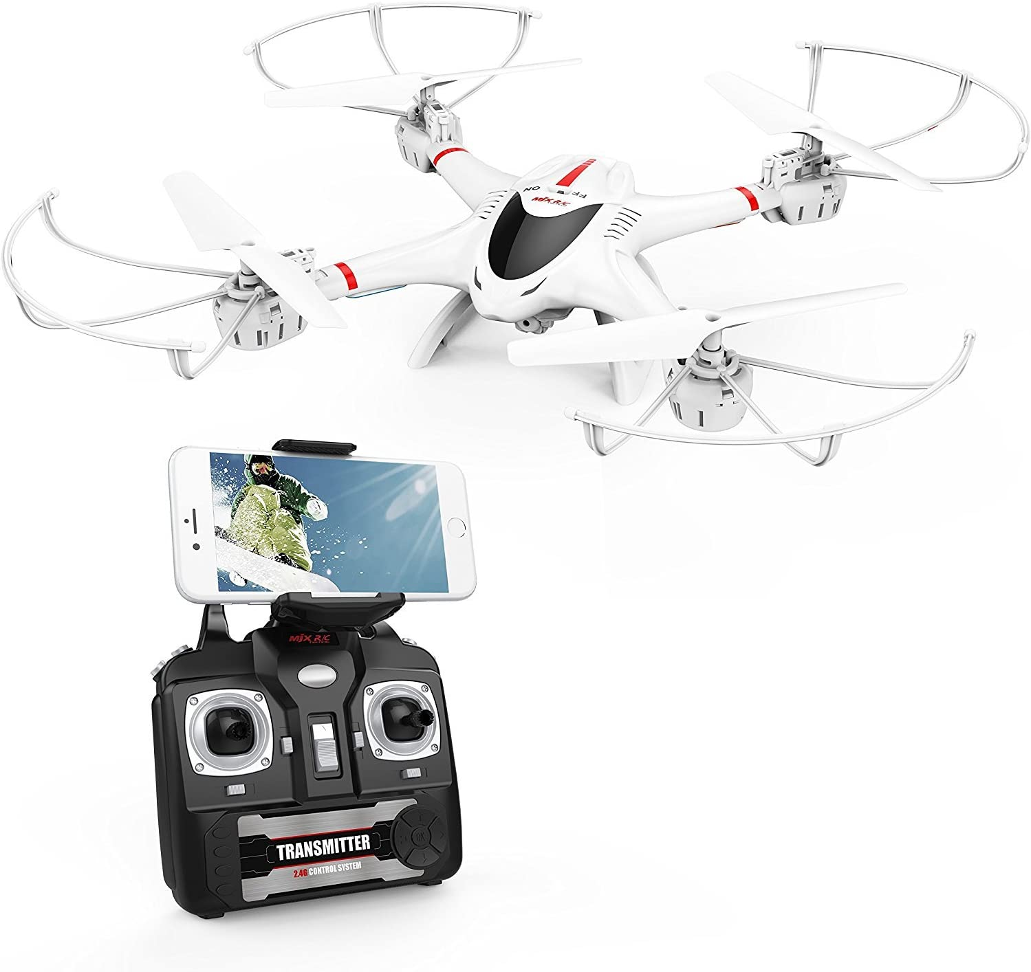 DBPOWER X400W FPV Quadcopter is at #13 for best drones under 50 dollars
