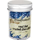Stampendous Glass Glitter 1 Ounce-Royal Blue
