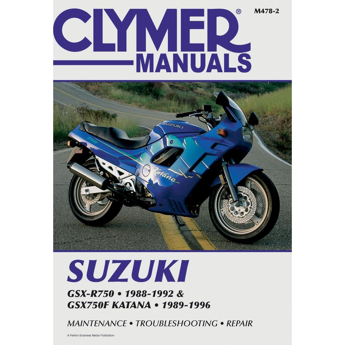 Amazon.com: 89-96 SUZUKI GSX750F: Clymer Service Manual: Manufacturer:  Automotive