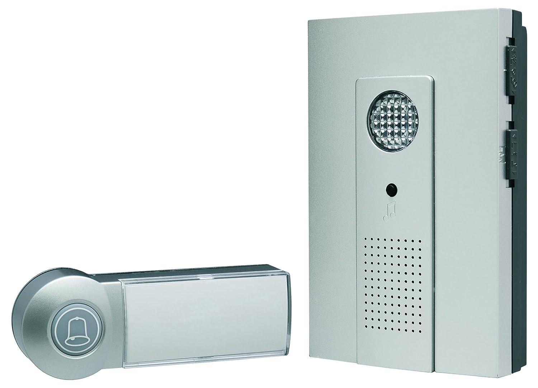 Sonnette portable sans fil Smartwares DB286A Lampe 16 m/élodies Hollywood