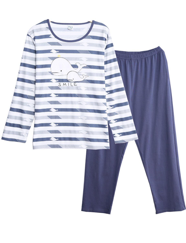 BYX SweetLeisure Big Boys Loose Cute Cotton Pajamas Leisure Wear 10-16 Years by BYX SweetLeisure (Image #1)