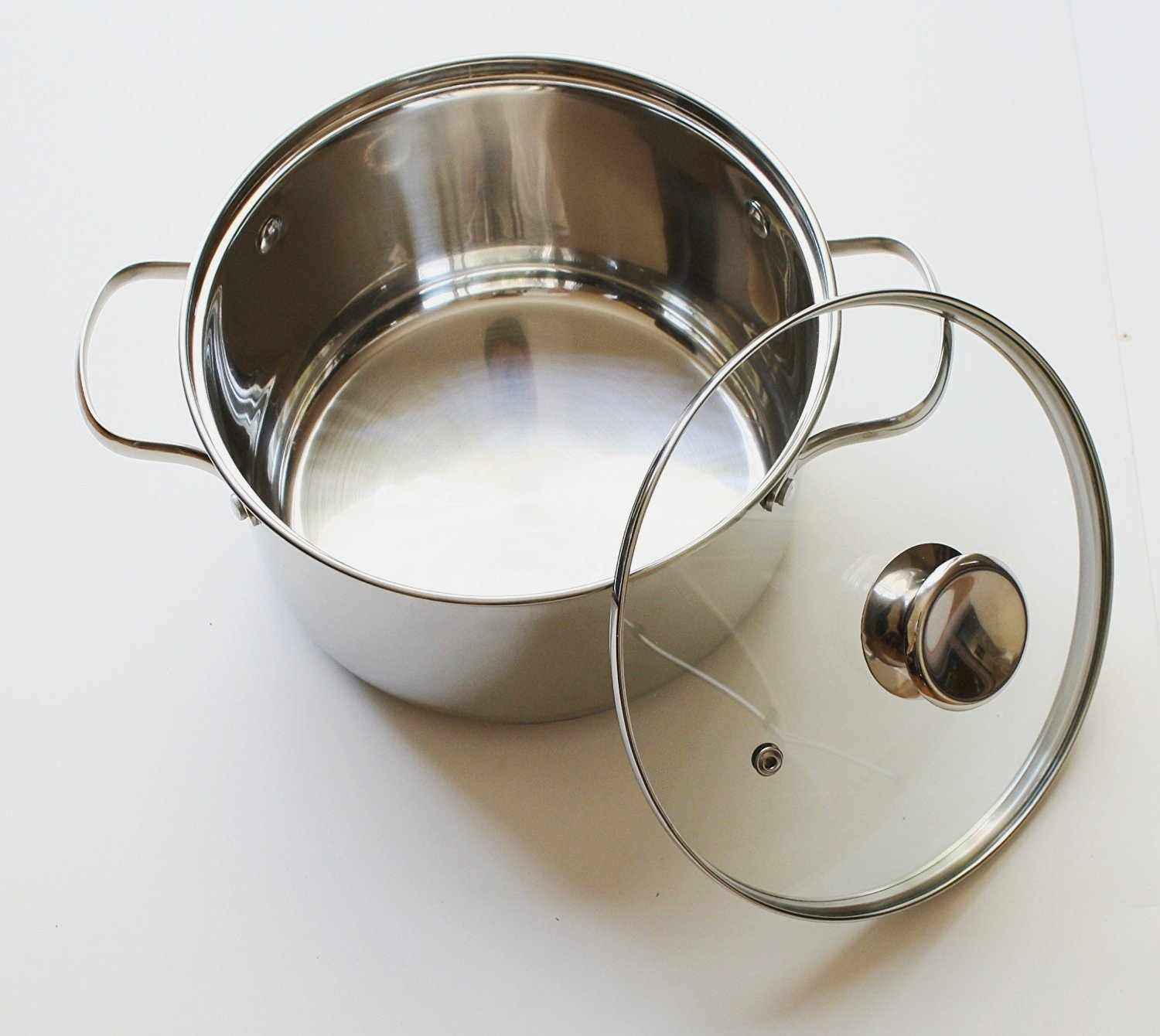Cook N Home NC-00313 Double Boiler Steamer 4Qt silver by Cook N Home (Image #3)