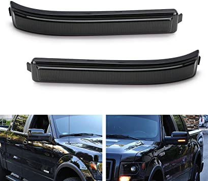 Side Marker compatible with 83 Ford F-100 Set of 2 Amber Lens Lens and Housing Right and Left Side