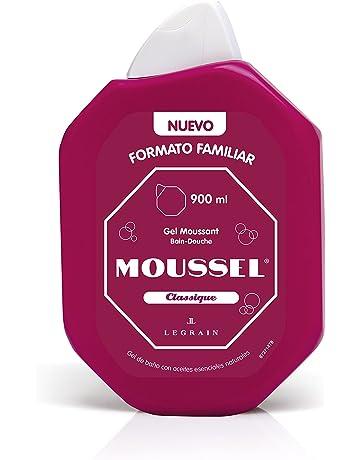 Moussel Gel de Ducha Clasico - 4 Paquetes de 900 ml - Total: 3600 ml
