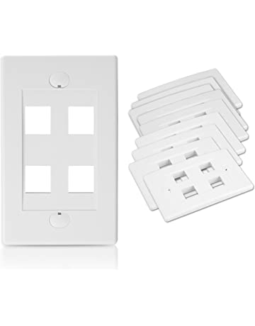 Amazon Com Wall Plates Connectors Electronics