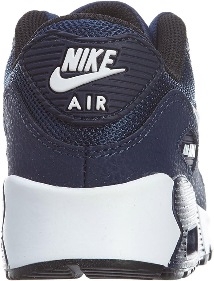 Nike Air Max 90 Mesh (PS), Baskets Basses Mixte bébé, Bleu
