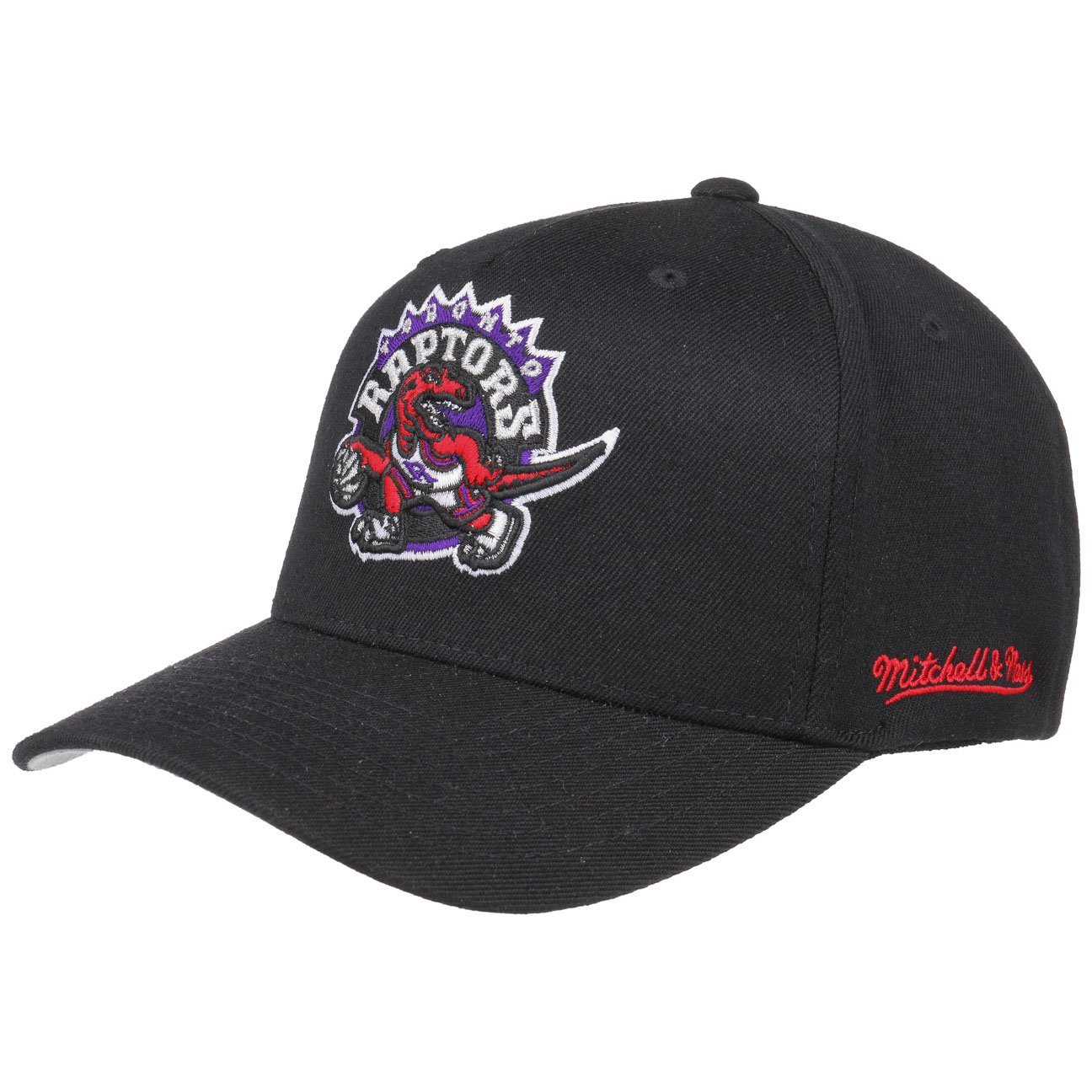 purchase cheap 9d48b 30f7d Mitchell   Ness Toronto Raptors INTL132 110 Curved Eazy NBA Flexfit Snapback  Cap One Size  Amazon.co.uk  Clothing