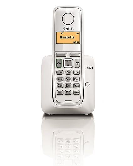 gigaset a220 cordless phone white amazon in electronics rh amazon in