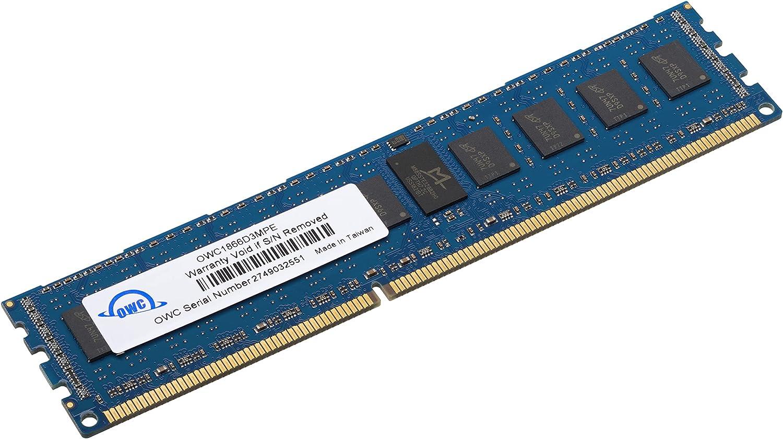 OWC 16.0GB PC3-14900 1866MHz DDR3 ECC-R SDRAM Memory Upgrade Kit for Mac Pro 2013, ECC Registered, (OWC1866D3MPE16G)
