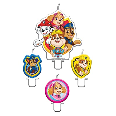 Amscan International 9903829 Holders, Candle Paw Patrol 2020: Toys & Games