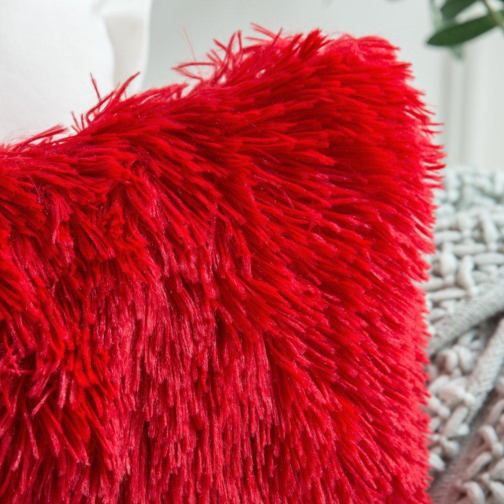 MIULEE Housse de Velours Nuage D/écoratif Canap/é outgeek Home Decor Taie doreiller Super Doux Decoration Maison Salon Chambre pour Canap/é Clic Clac 30 x50 cm 12x20,2 Pi/èces