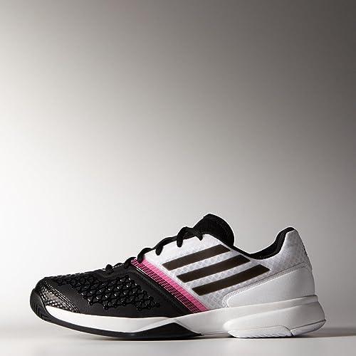 new arrival 23c0a 6e9bd adidas Performance Mens Tennis Shoe, White, EU 44 - UK 9, 5 Amazon.co.uk  Sports  Outdoors