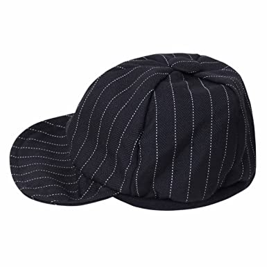 0115e3be432 iiniim Baby Boys Gentlemen Striped Duck Bill Hat Cap Summer Sun Hat  Baseball Cap - Black -  Amazon.co.uk  Clothing