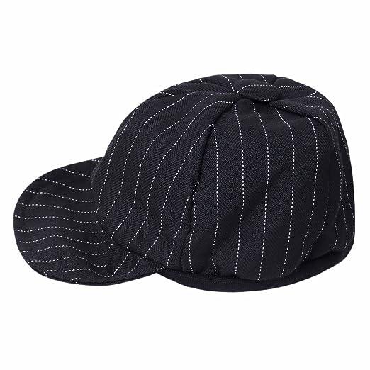 1d0daf38f Amazon.com: iiniim Baby Boys Gentlemen Striped Duck Bill Hat Cap ...