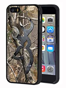 iPhone SE Case,iPhone 5s Case,iPhone 5 Case,Slim Anti-Scratch TPU Rubber Protective Case Cover for Apple iPhone SE/iPhone 5s/iPhone 5 - Browning Camo