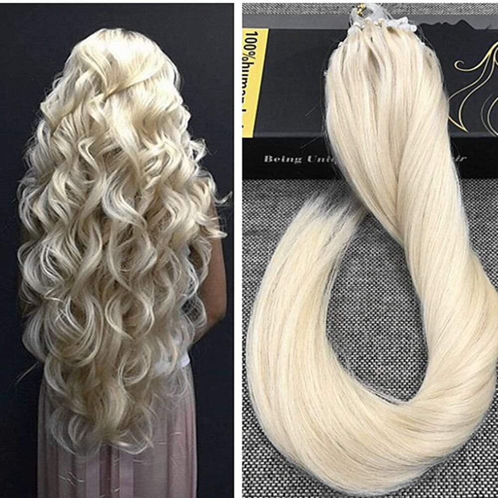 Amazon Ugeat 24inch 1gs 50strands Micro Beads Hair Extensions