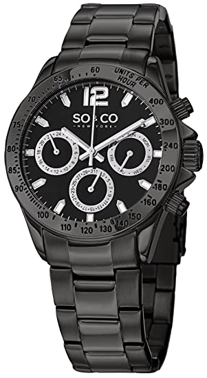 SO & CO New York Reloj 5001.3 Negro