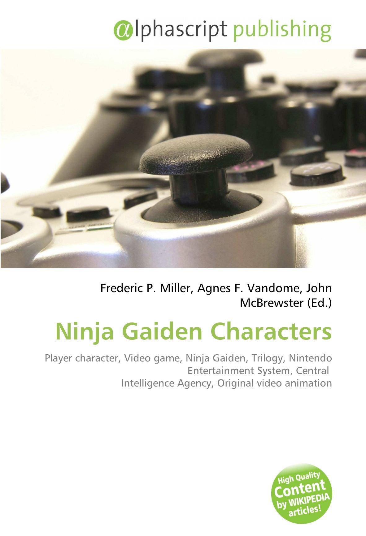 Ninja Gaiden Characters: Player character, Video game, Ninja ...