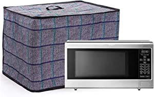 "Microwave Oven Cover, 900D Nylon Toaster Oven Cover, Waterproof Dustproof Countertop Oven Protector, Kitchen Small Appliances Cover, Gift for Mom 18.5""x13.7""x13.7"" (Gray)"