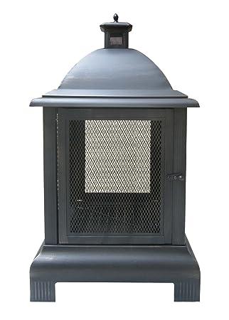 Amazon.com : Deckmate 30375 Franklin Outdoor Fireplace : Patio ...