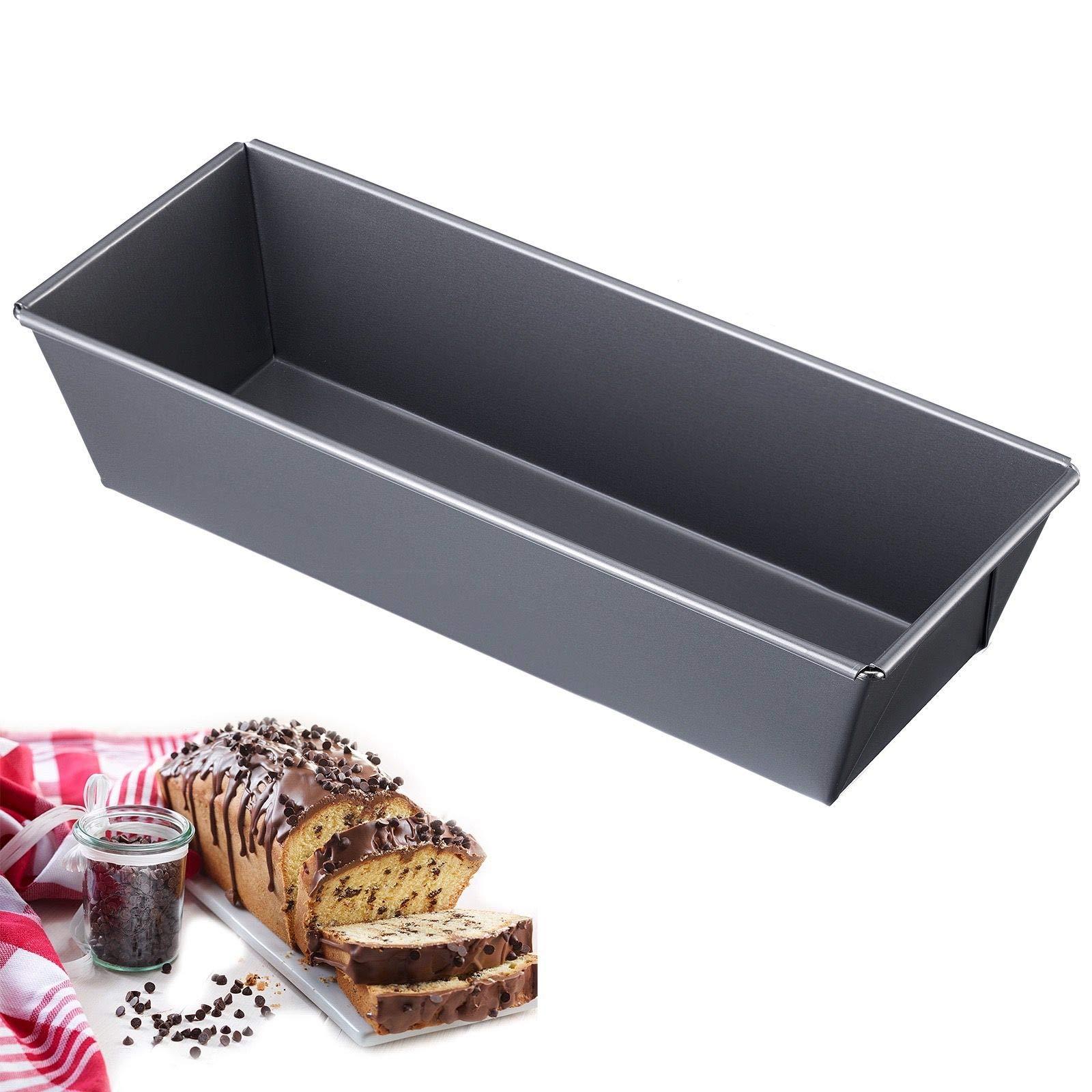 Westmark 32862270 12'' Nonstick Loaf Pan, 11.8'' x 4.75'', Gray