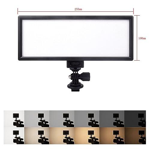 VILTROX L132T CRI95 5600K / 3300K LED Luce video dimmerabile piatto per fotocamere per Canon Nikon Sony Olympus Panasonic DSLR Videocamere DV Videocamera