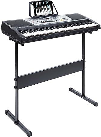 Hamzer Teclado digital de piano con 61 teclas, instrumento ...