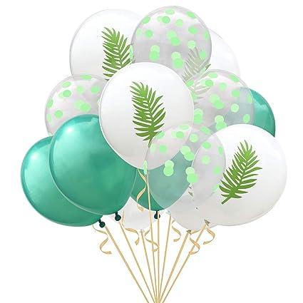 Amazon.com: 30 globos tropicales de palma para fiestas ...