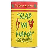 Slap Ya Mama All Natural Cajun Seasoning from Louisiana, Original Blend, MSG-Free and Kosher, 8 Ounce Can, Pack of 3