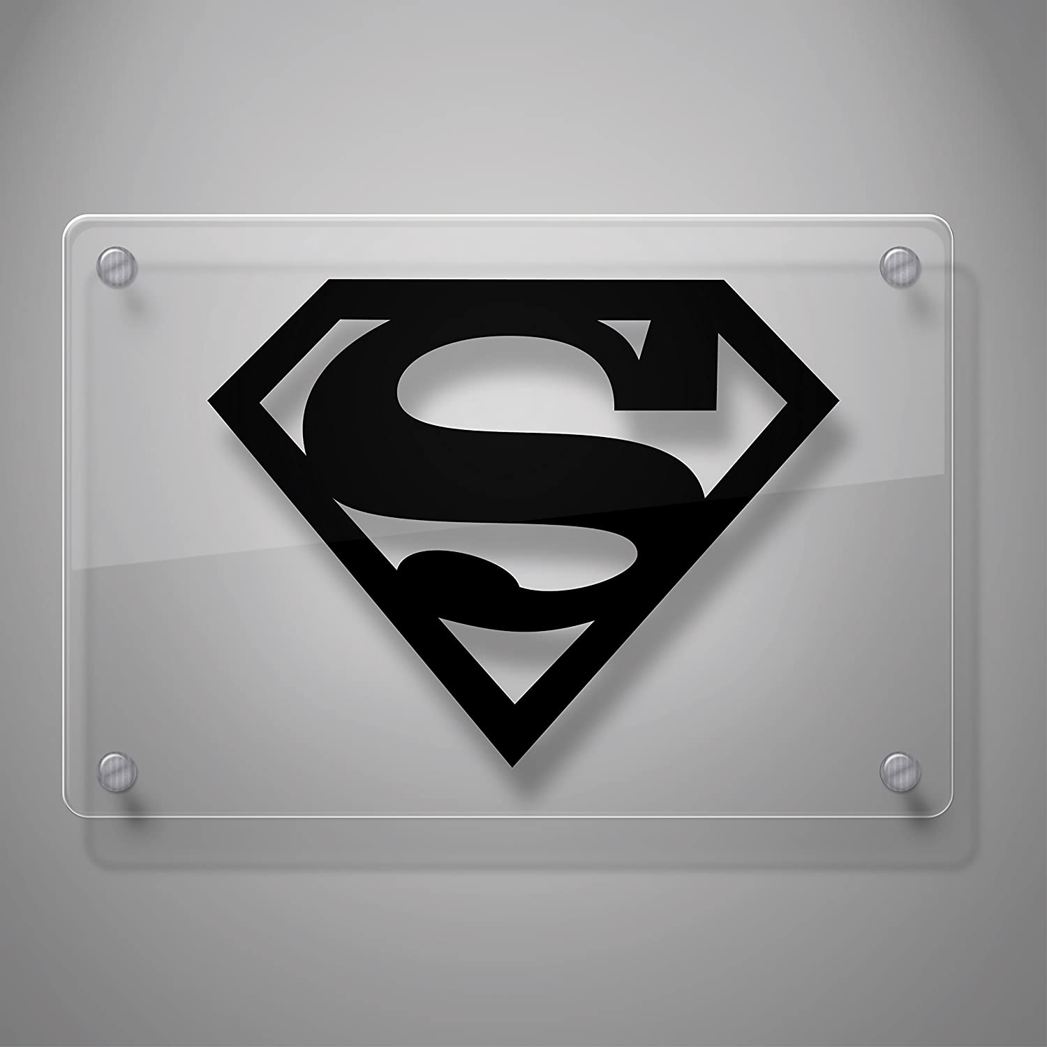 6 x 7.7, Black Laptop and More Laptop and More Yoonek Graphics Superman Decal Sticker for Car Window 6 x 7.7 # 805 # 805