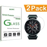RKINC forSamsung Gear S3Screen Protector, [2 Pack] Crystal Clear Tempered Glass Screen Protector [9H Hardness][2.5D Edge][0.33mm Thickness][Scratch Resist] forSamsung Gear S3