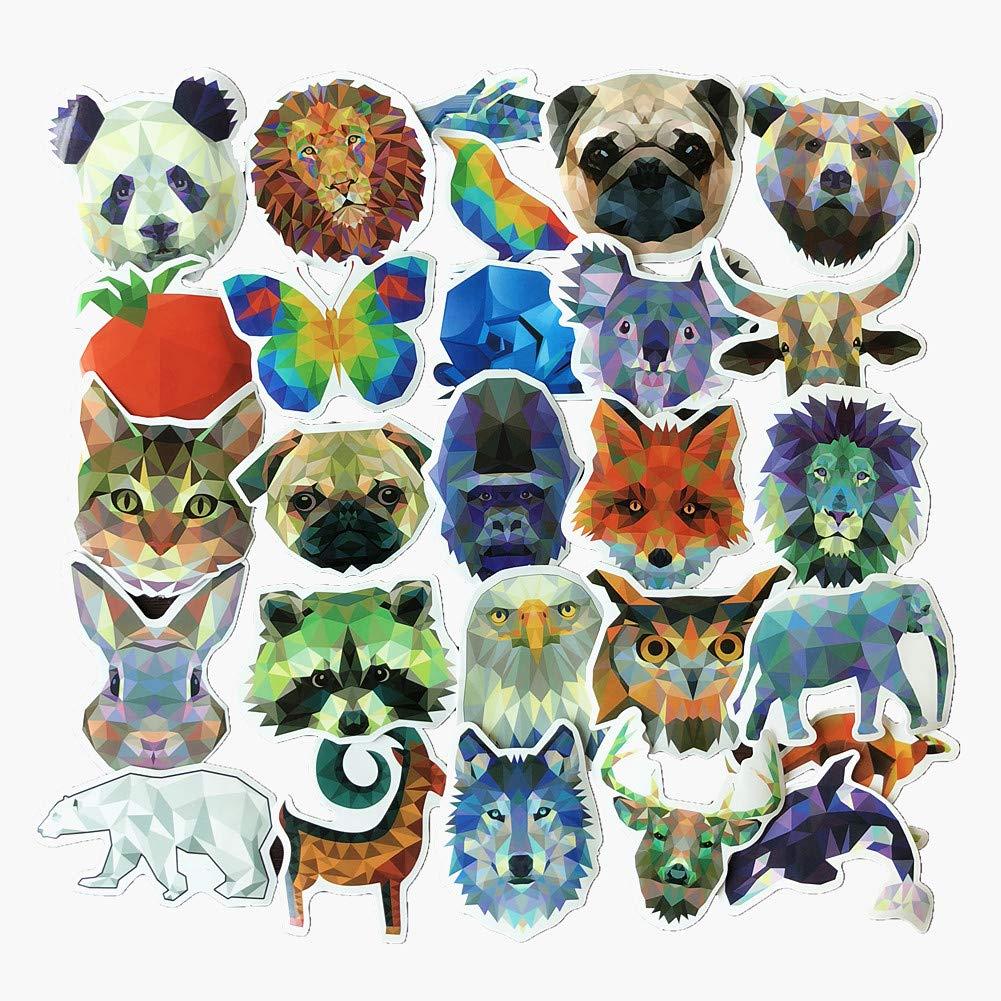 Stickers Calcos 35 un. Animales Origen U.S.A. (7F7LS6XQ)