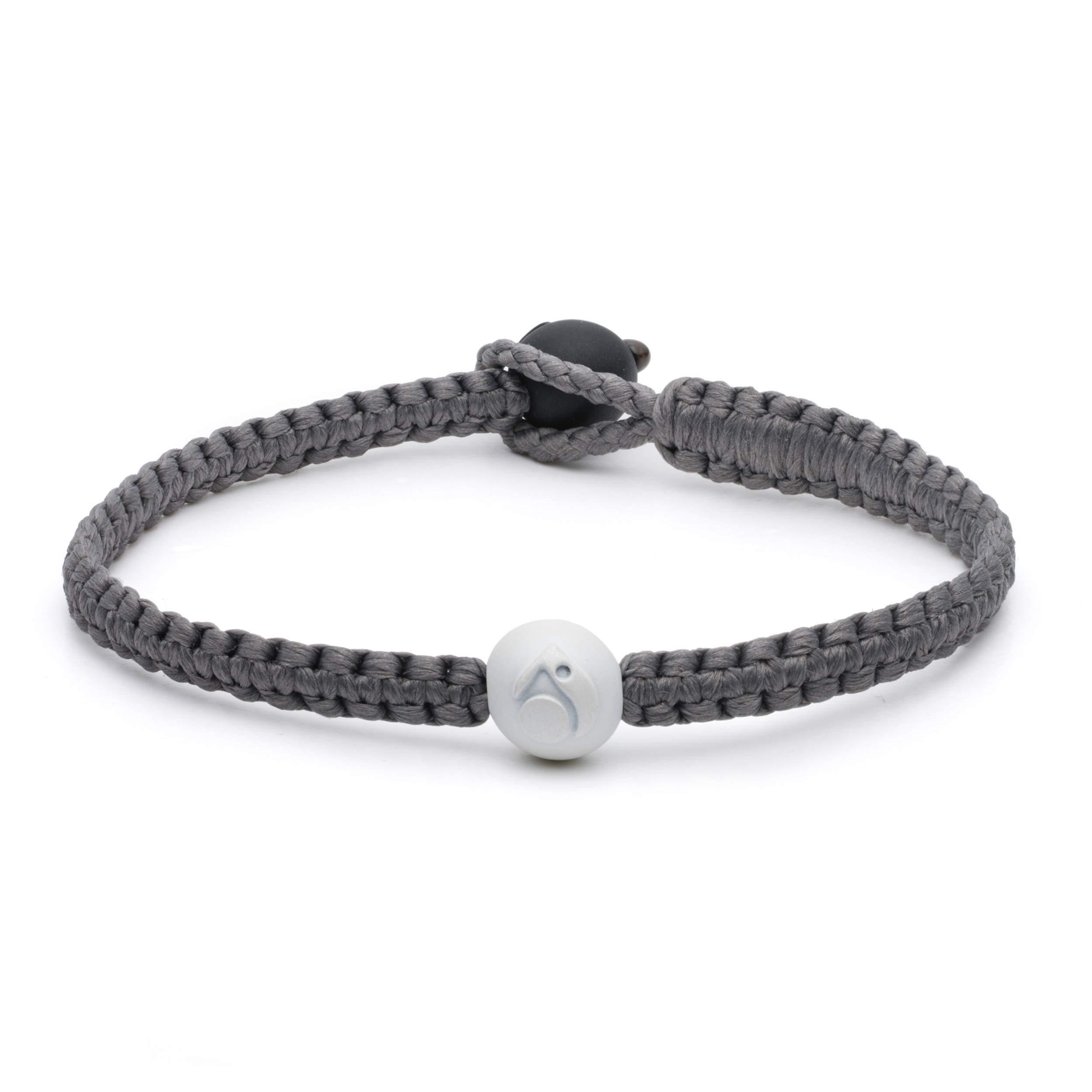 Lokai Silver Single Wrap Bracelet, 6.5'' - Medium