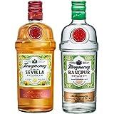 Tanqueray Sevilla & Tanqueray Rangpur Gin, 2x 70cl Bottle Bundle