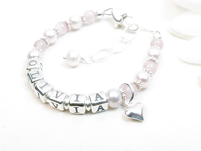 daughter baptism bracelet mommy baby wusuaned bar mom set for new gift dp