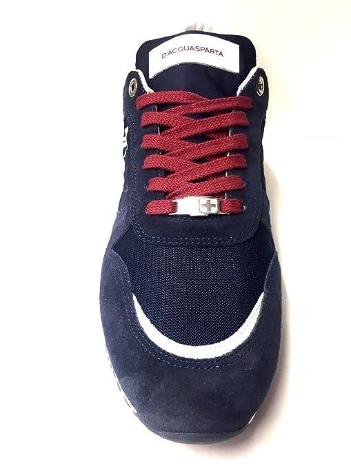 Obtener Nuevos Scarpe Sneakers Casual Uomo Daposacquasparta Originale U150 Pelle scarpe Pe New Colore Principale Blu/ Bordeaux Taglia 44 Más Barato Sast Descuento Envío Bajo Precio Barato Grandes Ofertas GM82OC5DC