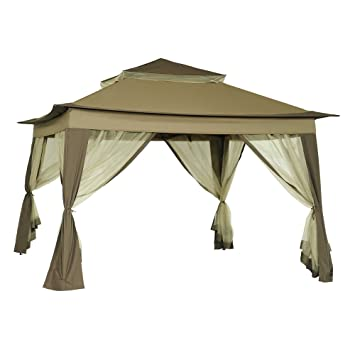10-Foot X 10-Foot Quick Set Up Folding Gazebo  sc 1 st  Amazon.com & Amazon.com : 10-Foot X 10-Foot Quick Set Up Folding Gazebo ...